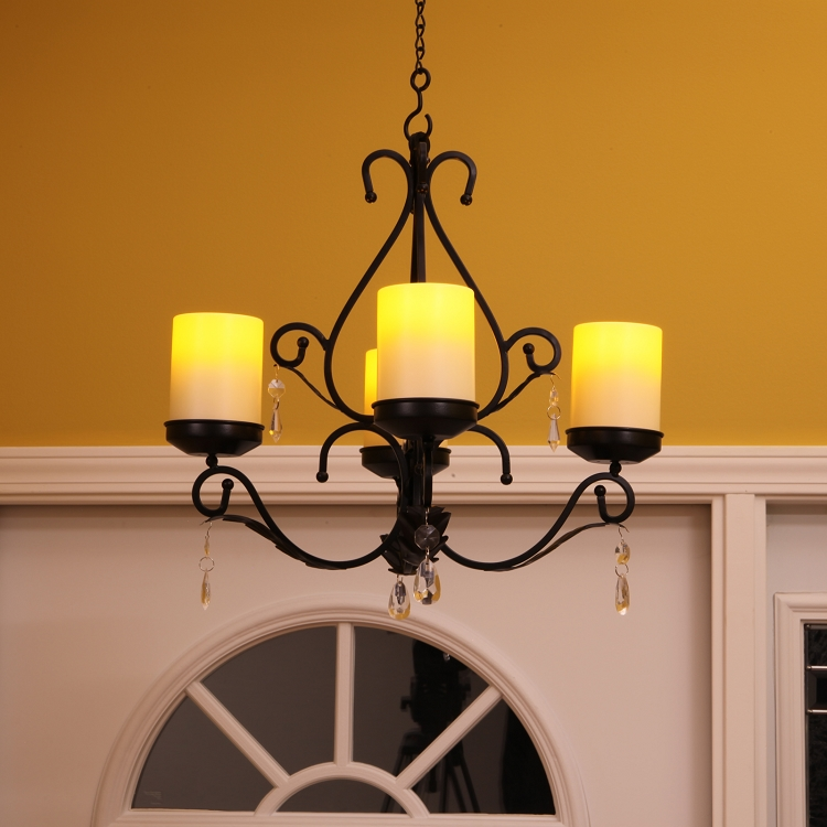Charleston flameless candle chandelier sconces combo pacific accents mozeypictures Choice Image