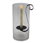 Sedona Flameless Taper Candle Holder