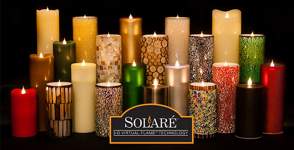 Moving Flame Solare 3d Flameless Candles