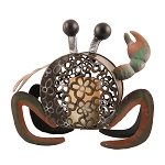 Beachcomber Crab Flameless Pillar Holder