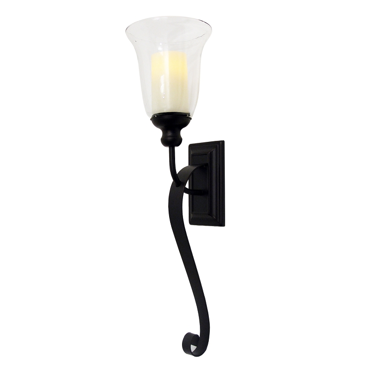 Serafina Flameless Candle Sconce with Flameless Candle