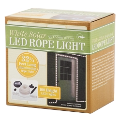 Pacific Accents 100 LED Solar Rope Light