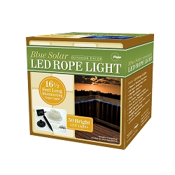 Pacific Accents 50 LED Solar Rope Lights