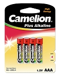 AAA Alkaline Batteries 4 Pack Blister Pack