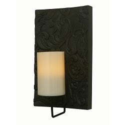 Pacific Accents Solstice Flameless Candle Sconce