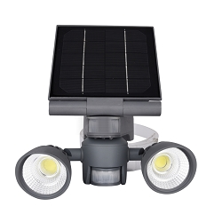 Pacific Accents Solar 2 x 5 COB Spot Light  600 Lumens