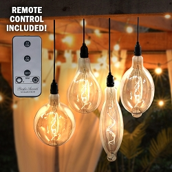 RetroEssence Battery Operated LED Vintage Light